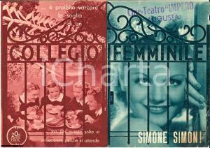 1936 Irving CUMMINGS Collegio femminile - volantino
