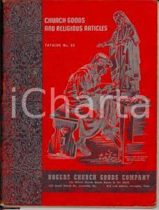 1954 LOUISVILLE (KY) Catalogo articoli religiosi ROGERS