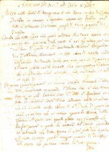 1644 ESTE Testamento Francesco PASQUALI pro confraternita Manoscritto INCOMPLETO