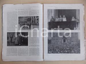 1930 L'ILLUSTRAZIONE ITALIANA Nozze Umberto di SAVOIA - Maria José 60 pp.