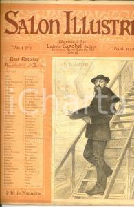 1888 SALON ILLUSTRE' Reproductions oeuvres - Jean-Paul LAURENS *Revue vol. 1 n°1