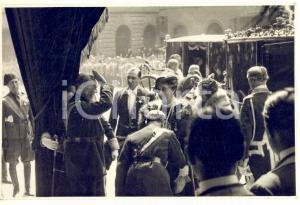 1934 ROMA Luigi FEDERZONI con Regina ELENA MONTECITORIO