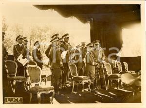 1938 ROMA Premiazione Ufficiali saggio Ippico Militare