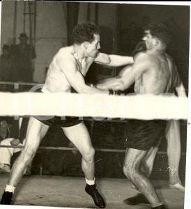 1943 MILANO BOXE Pugile Carlo ORLANDI vs Angelo ORENI *Fotografia