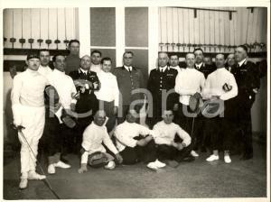 1937 MILANO Gara di scherma Ufficiali dei Carabinieri