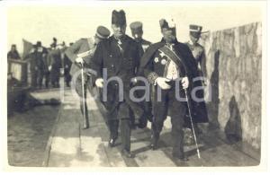 1924 TRIPOLI Luigi FEDERZONI visita Giuseppe VOLPI