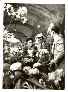 1938 MILANO Sagra Fiori Pesci e Uccelli alla LOGGIA MERCANTI *Fotografia