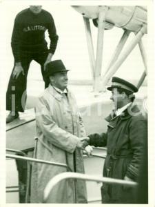 1936 GENOVA Arrivo Ministro Hans FRANK con ALA LITTORIA Fotografia