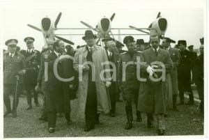 1936 GENOVA Arrivo Ministro Hans FRANK con ALA LITTORIA *Fotografia