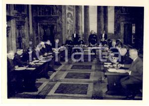 1938 ROMA Luigi FEDERZONI presidente Consiglio Nazionale delle Accademie *Foto