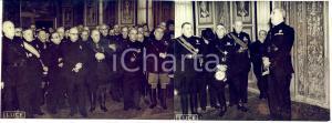 1939 ROMA Luigi FEDERZONI parla agli Accademici dei LINCEI *Fotografia DOPPIA