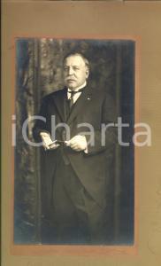 1930 ca BRUXELLES (B) Ritratto di Maurice MERVILLE *Photo LINTHIE su cartoncino