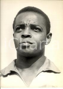 1970 ca CALCIO Ritratto del giocatore Antonio LIMA DOS SANTOS *Foto 22x30 cm