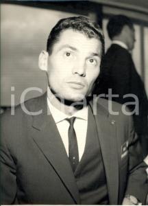 1970 ca CALCIO Ritratto giocatore Sandor BAKOS - VASAS BUDAPEST *Foto 24x30