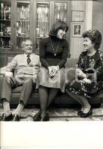 1980 ca ROMA TENNIS Campione Marcello DEL BELLO in famiglia *Foto 24 x 30 cm
