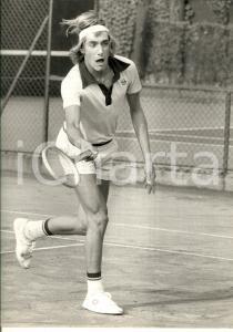 1980 ca TENNIS ITALIA Ritratto di Fabrizio DAVID durante una partita *Foto 24x30