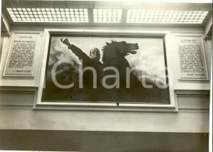 1931 MILANO Gruppo Rionale SCIESA Parete Salone XVIII OTTOBRE *Fotografia