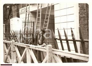 1940 ROMA Raccolta del ferro - Cancelli Mercato Traiano