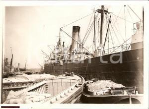 1940 London Docks - Captured Nazi Ship *UHENFELS Photo