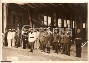 1939 PNF Ciano e Generali a Madrid *Caudillo Franchismo