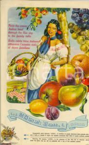 1950 ROMA Manifesto pubblicitario DI CLEMENTE ALFONSO