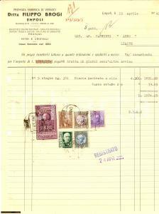 1940 EMPOLI Premiata fabbrica di vernici Filippo BROGI
