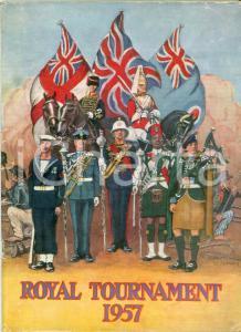 1957 LONDON Royal Tournament EARLS COURT Exhibition Center *Programma ILLUSTRATO