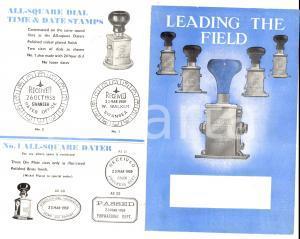 1959 ALL-SQUARE Die Plate Daters - Timbri datari *Pubblicitario ILLUSTRATO