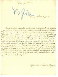 1838 ROMA Paolina CAMBI VOGLIA invia cassettina ai Frati Scalzi di Urbino
