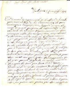 1828 FOLIGNO Chiesa SS.MA TRINITÀ Suor Anna Maria Veronica pro nipote sacerdote