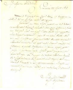 1818 CAMERINO Angiolo ANGELETTI chiede un altro perito per divisione ereditaria
