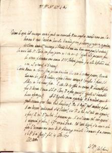 1670 CASTIGLION FIORENTINO Cause per Francesco POGGIOLI