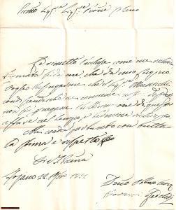 1832 FOIANO DELLA CHIANA (AR) Documenti per DEL BIMBO