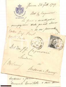 1909 BESANA IN BRIANZA (MB) Elezioni di Pietro CARMINE