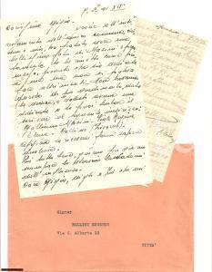 1941 MONZA (MB) In cerca di autografi Galliano MASINI