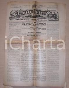 1930 MITRAGLIERE Adunata nazionale mitraglieri TORINO