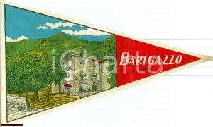 1950 LAMA MOCOGNO (MO) Bandierina Hotel Posta BARIGAZZO