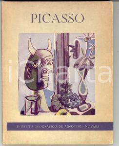 1954 André LECLERC PICASSO illustrato 34 TAVOLE 47 pp. - Ed. DE AGOSTINI NOVARA