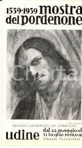1939 UDINE Mostra dipinti pittore PORDENONE illustrato