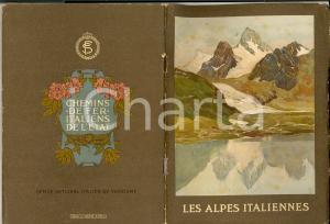 1924 ENIT e Ferrovie dello Stato Guida ALPES ITALIENNES
