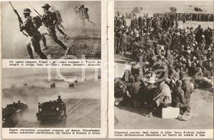 1945 WW2 USA Quadro dell'America e Americani in guerra