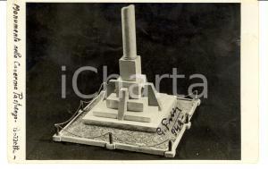 1940 ROMA Bozzetto monumento Caserma Pastrengo G. FADDA
