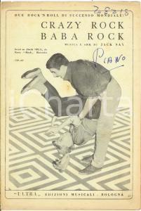 1957 JACK SAY Crazy Rock Baba Rock *Spartito