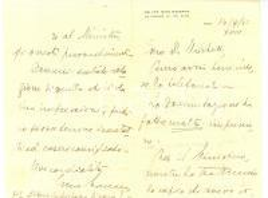 1940 ROMA Manovre cav. Gino MASSANO Lettera autografa