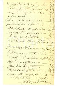 1944 CARUGO (CO) Arrigo FACHERIS vende casa Autografo
