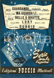 1949 SAMBE BEGUINE Guardando il batterista, Lory *Spartiti