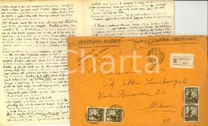 1950 NAPOLEONE Manoscritto INEDITO Paolo Ettore SANTANGELO