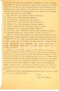 1949 MILANO Paolo Ettore SANTANGELO vuole premio NOBEL Autografo