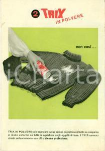 1945 ca TRIX IN POLVERE Preparato antitarme Opuscolo ILLUSTRATO