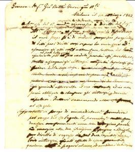 1842 MILANO Carlo MONETA rischia di perdere la casa